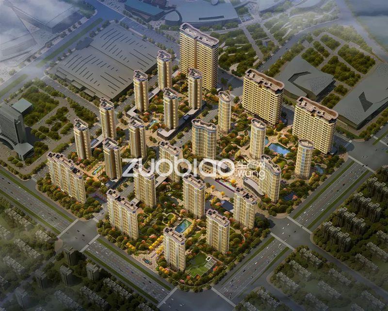 中央城楼盘图片